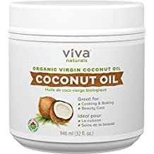 Viva Naturals Organic Virgin Coconut Oil 32 ounces / 946 millilitres
