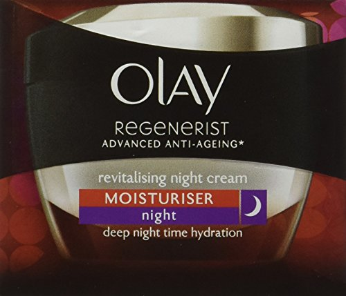 Olay Night Cream Regenerist Deep Hydration Light Cream, 50g 2021 June Quantity: 50g; Item Form: Cream Replenishes skin with moisture to firm its appearance Skin Type: All Skin Types