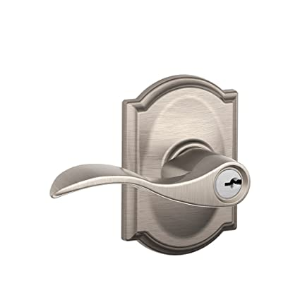 Schlage F51 Acc Cam Accent Single Cylinder Keyed Entry Door Lever