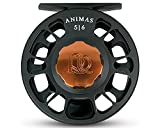 Ross Animas Fly Reel, 5/6, Stealth Black