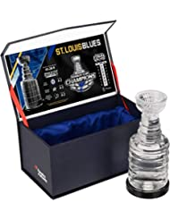 8a6aaad04 St. Louis Blues 2019 Stanley Cup Champions Crystal Stanley Cup - Filled  with Ice from