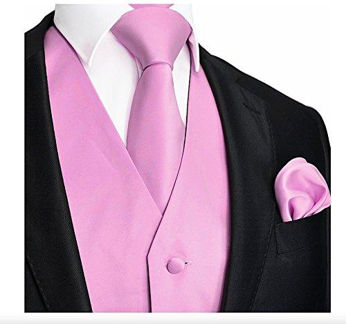 Brand Q 3pc Vest Set-Pink-2XL -
