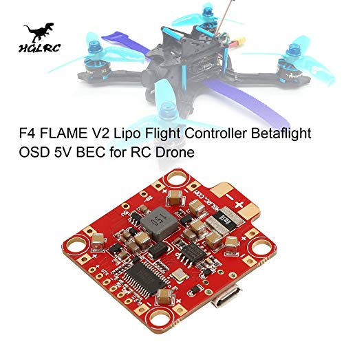 Wikiwand HGLRC F4 Flame V2 Lipo Flight Controller Betaflight OSD 5V BEC for RC Drone by Wikiwand (Image #5)