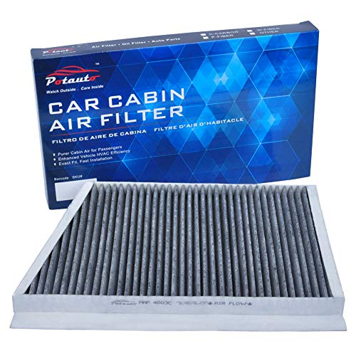 C32 Amg - POTAUTO MAP 4003C (CF9905) Replacement Activated Carbon Car Cabin Air Filter for MERCEDES BENZ, C230, C240, C280, C32, AMG, C320, C350, C55 AMG, CLK320, CLK500, CLK55, AMG, CLK550, CLK63 AMG
