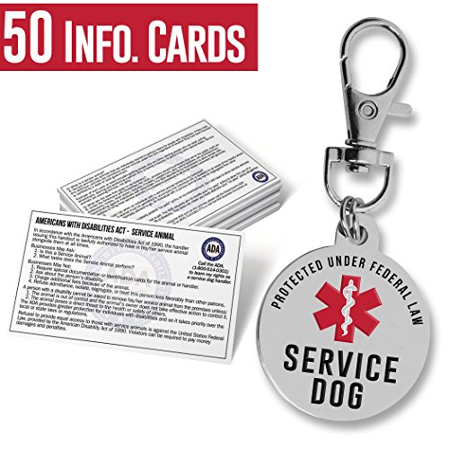 The Official Service Dog ID Tag - 1.25
