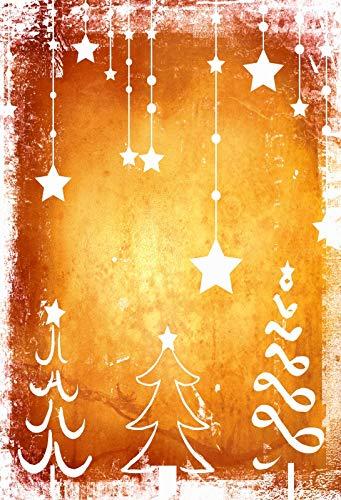 Christmas Graffiti Background.Leyiyi 8x10ft Photography Background Merry Christmas Backdrop Happy New Year Vintage Grunge Graffiti Xmas Tree Hanging Stars Old Church Play Holy