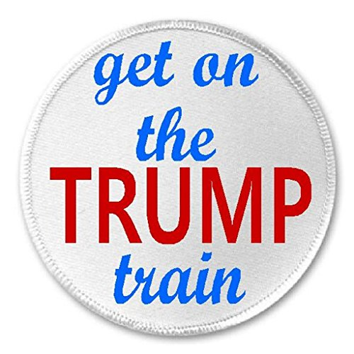 Presidential Patch - Get On The Trump Train - 3