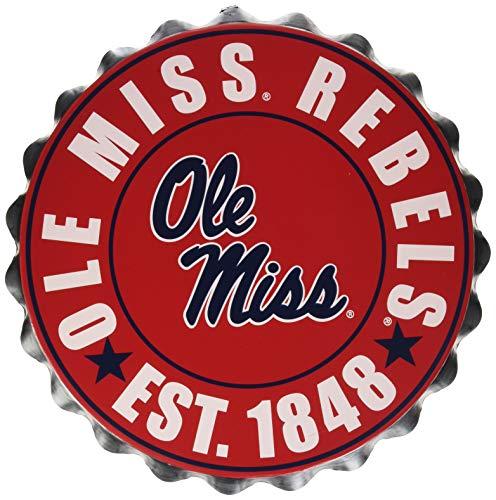 Ole Miss 2016 Bottle Cap Wall Sign - Ole Miss Bottle