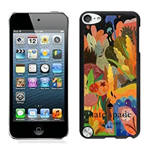Personalized Popular Design Ipod Touch 5 Case Kate Spade New York Phone Case For iPod Touch 5 Plastic Cover Case 103 Black