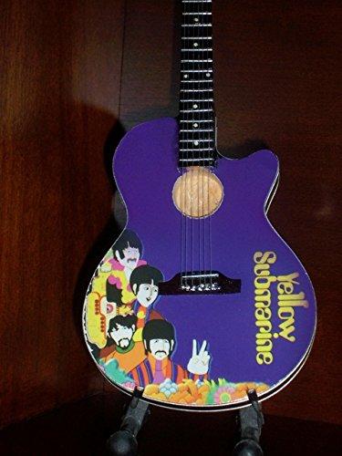 YELLOW SUBMARINE BEATLES Mini Acoustic Guitar Display GIFT