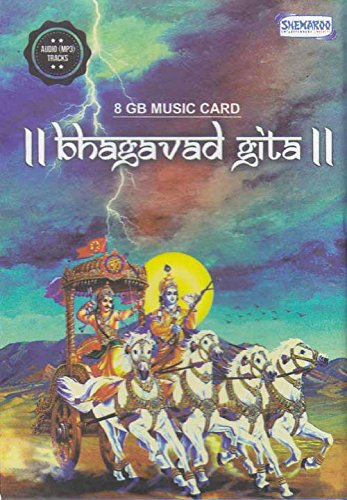 Price comparison product image Bhagavad Gita Hindi Music Card (USB) 8 GB Music Card