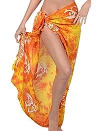Ingear Beach Sarong Summer Beachwear Wrap Print Skirt Pareo Handmade Cover Up