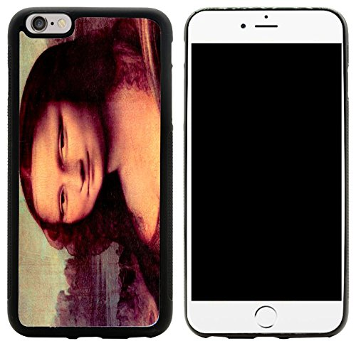 Rikki Knight Hybrid Case for iPhone 6 Plus & 6s Plus - Leonardo Da Vinci Art Mona Lisa (Detail) Design