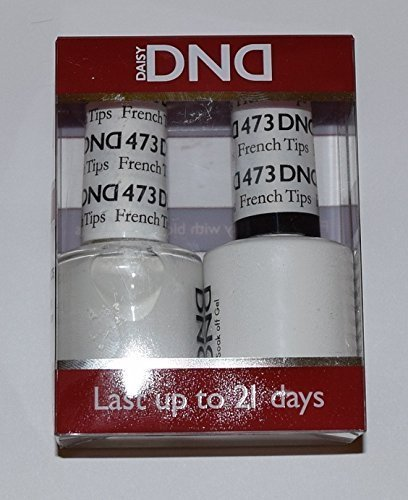 DND Gel & Matching Polish Set #473 - French Tips. Buy 5 any
