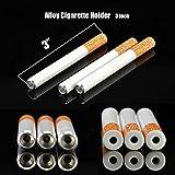 JYHF 5 Pcs 3 Inch Alloy Cigarette Holder Fake