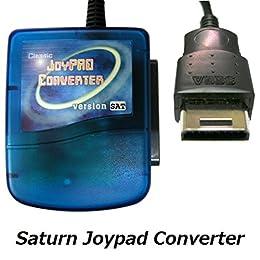 【PS/PS2のコントローラーがセガサターンで使える】 PS to Saturn Joypad Converter / Controller Converter ジョイパット コンバーター [CXD0811] [並行輸入品]