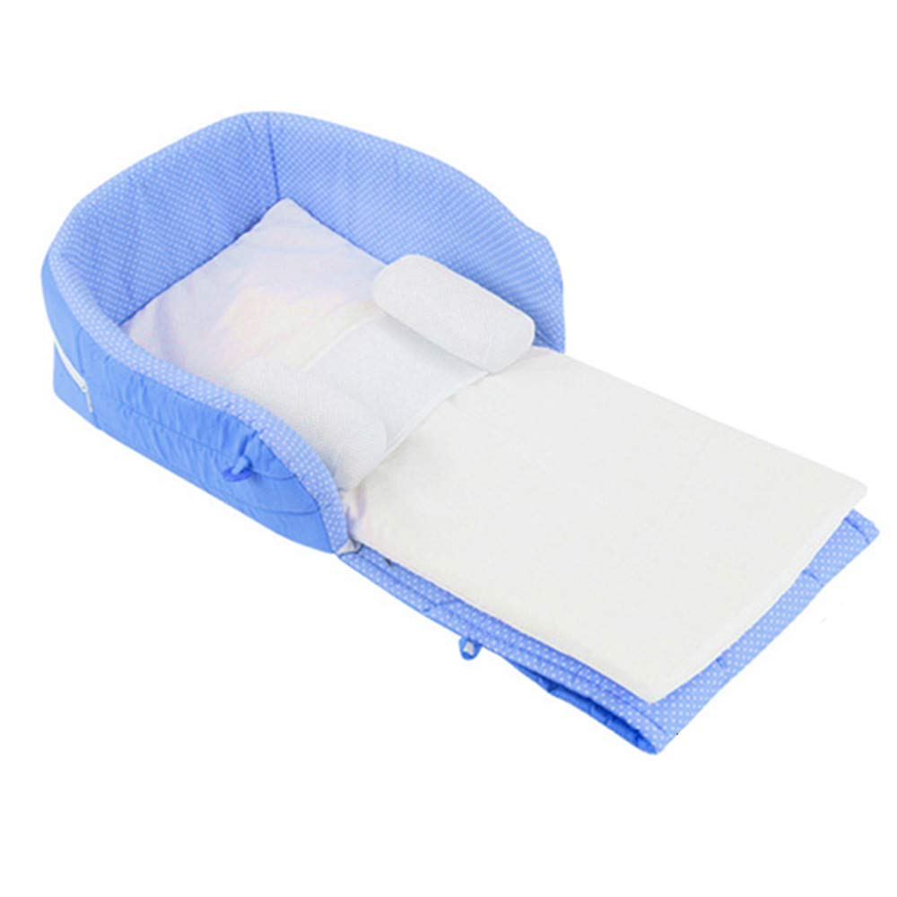 Handley-1 Foldable Baby Bed,Super Soft and Breathable Newborn Lounger Portable Newborn Bed for 0-24 Months by Handley-1