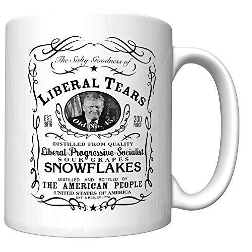 Liberal Tears Coffee Mug With Donald Trump (newest version) ()