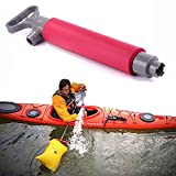 Wincom Dishman Water Sports Manual Hand Bilge Suck Water Pump Exhaust Muffler Canoe Accessories