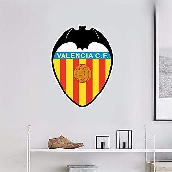 Pegatina De Pared 3D Valencia Fc España Sport Soccer Team Logo Sign: Amazon.es: Bricolaje y herramientas