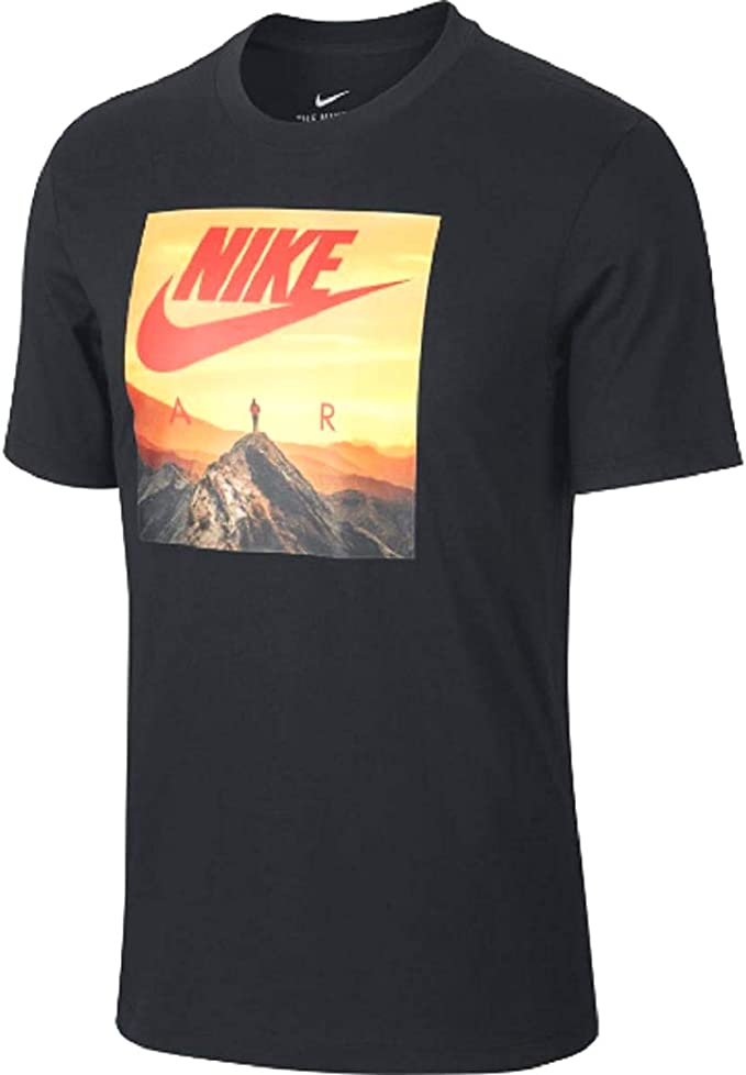 NIKE M NSW tee Sunset Palm Camiseta, Hombre: Amazon.es: Ropa y ...