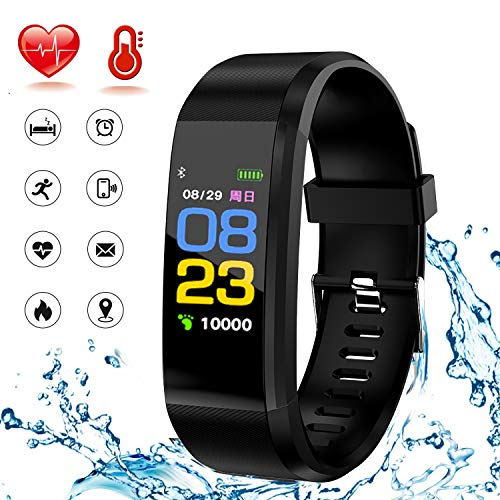 Heart Lightweight Bracelet - HK Fitness Tracker HR,Activity Tracker Smart Watch Waterproof Smart Bracelet Wristband with Heart Rate Blood Pressure Sleep Monitor GPS Step Calorie Counter Pedometer for Kids Women Men
