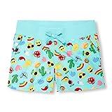 The Children's Place Big Girls' Knit Waistband Short, Bay Breeze 6608, 10