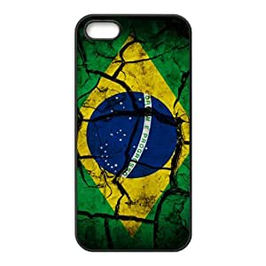 Flag of Brazil Phone Case for iPhone 5S Case
