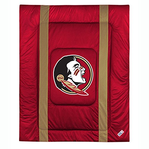 Sports Coverage NCAA Florida State Seminoles Sideline Comforter Twin