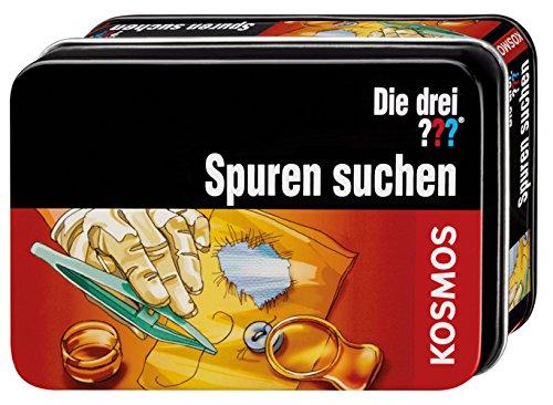 KOSMOS 631079 Die drei ??? Spuren suchen - Juego de búsqueda de huellas (versión en alemán) B001NL3XA4 Lernen
