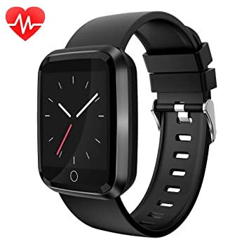 moreFit Fitness Tracker Smart Watch, IP68 Waterproof Fitness Watch Activity Tracker with Heart Rate Monitor, Wearable Smart Bracelet Sleep Monitor ...