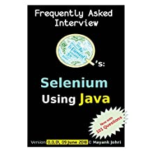 Frequently Asked Interview Questions in Selenium Automation using Java