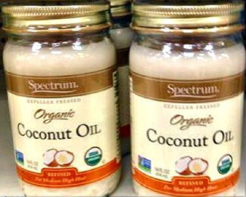 Expeller pressed coconut oil for hair