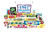 Woodstock Candy 1967 51st Birthday Gift Box - Nostalgic Retro Candy Mix from Childhood for 51 Year Old Man or Woman Jr.