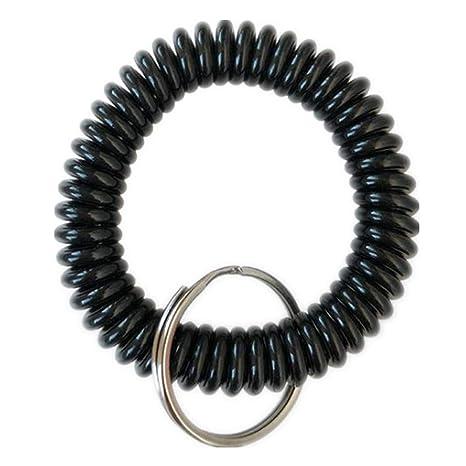 Amazon.com: Llavero con espiral elástica de plástico ...