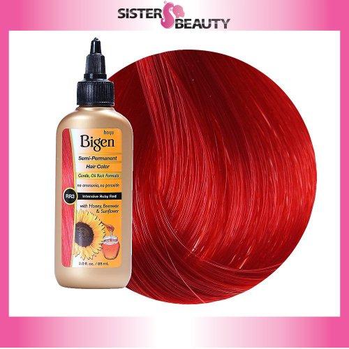 amazoncom bigen semi permanent hair color ruby red 30 ounce chemical hair dyes beauty - Bigen Hair Color Chart
