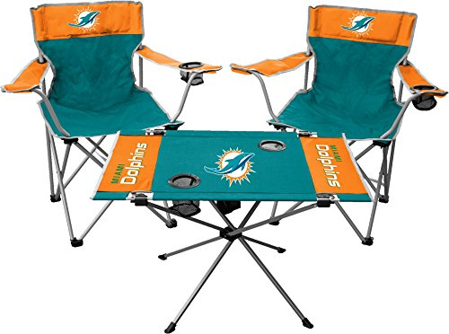 Colors Miami Dolphins (Jarden NFL Miami Dolphins Tailgate Kit, Team Color, One Size)