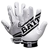 Battle Youth Hybrid Gloves, White, Large