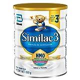 Similac | Etapa 3, Fórmula Infantil con Hierro para Niños de 1 a 3 Años, Contiene DHA, HMO | 850g