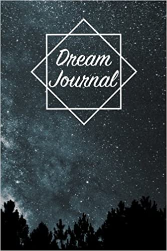 Dream Journal Notebook And Diary For Recording Dream Interpretations Magical Starry Space With Trees Cover Compact Size 100 Lined And Blank Pages Perfect Gift For Women Girls Men And Kids The