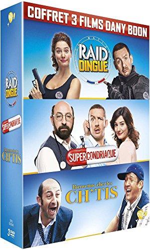 Dany Boon : Bienvenue chez les Ch'tis + Supercondriaque + Raid dingue