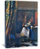 Allegory of Faith 32'' x 48'' Gallery Wrapped Canvas Wall Art
