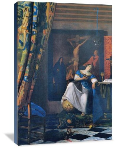 Allegory of Faith 32'' x 48'' Gallery Wrapped Canvas Wall Art by ArtsyCanvas