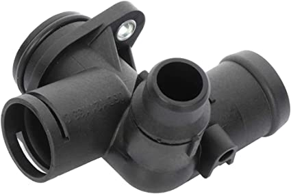 Mplus Coolant Thermostat Housing Fits 2005-2009 for Audi A4丨2005-2009 for Audi A4 Quattro 2.0L 1984CC 121Cu In l4 GAS DOHC
