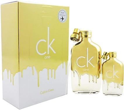 CALVIN KLEIN CK ONE GOLD EDT 200 ML + EDT 50ML SET REGALO: Amazon.es: Belleza