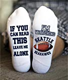 Seattle Seahawks Socks American Football Birthday Gift Game