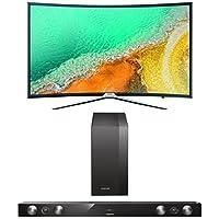 Samsung UE55K6379SUXZG Curved Fernseher+  HW-H430/EN 2.1 Soundbar