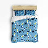 Best Fashion Bed Group Bunk Beds - YEHO Art Gallery Soft Duvet Cover Set Bed Review