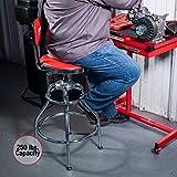 Sunex 8516 Hydraulic Shop Stool, High-Polished