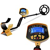 Goplus MD-3010II Metal Detector Gold Digger Deep Sensitive Light Hunter LCD Display